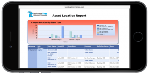 InformaTrac Web Reporting Tools on iPhone