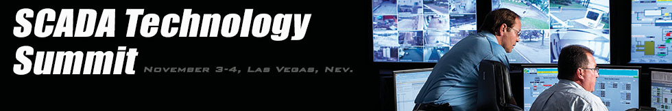 SCADA Technology Summit Logo for InformaTrac and PcVue presentation in Las Vegas